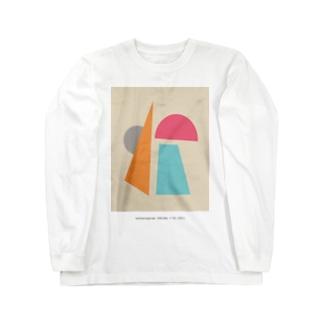 望遠鏡座 Long sleeve T-shirts