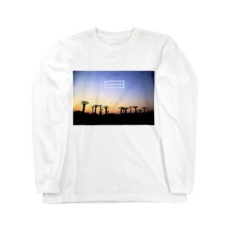 マダガスカルの日常 Long sleeve T-shirts
