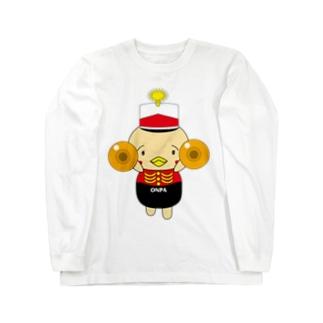 オンパ シンバル Long sleeve T-shirts