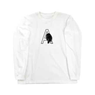 あさがおのA Long sleeve T-shirts