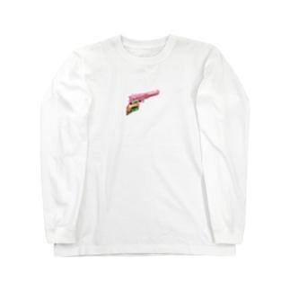 ばキューン Long sleeve T-shirts