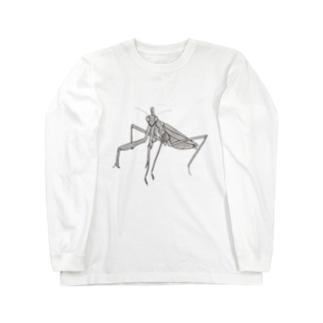 カマキリ Long sleeve T-shirts