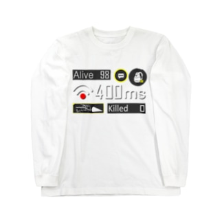 ネガティブアイコン Long sleeve T-shirts