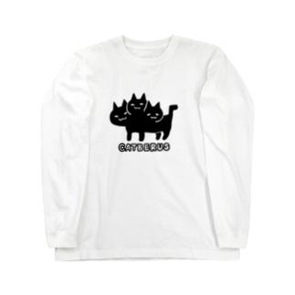 ネコベロスちゃん Long sleeve T-shirts