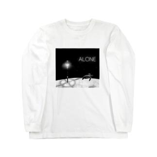 ALONE Long sleeve T-shirts