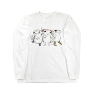 Amphibian MIKAERU Long sleeve T-shirts