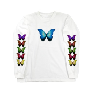 glamorous butterfly Long sleeve T-shirts