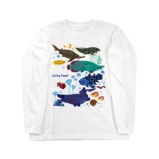 生きた化石たち Long sleeve T-shirts