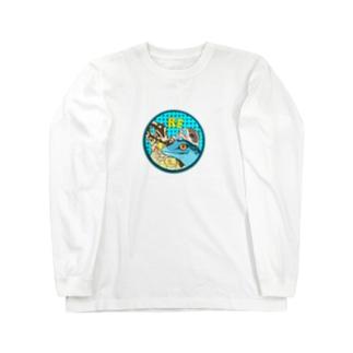 爬虫類いろいろ Long sleeve T-shirts