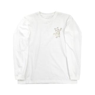 バンジョー弾く猫 1 Long sleeve T-shirts
