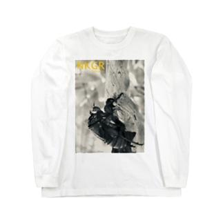 抜け殻 Long sleeve T-shirts