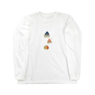 スズカ(ヲシテアート文字) Long sleeve T-shirts