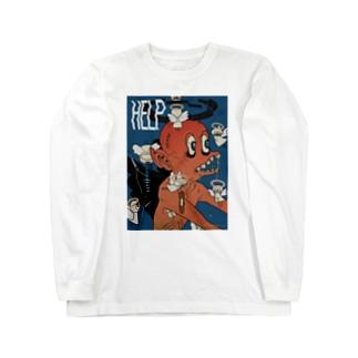 ヘルプ! 天使シリーズ Long Sleeve T-Shirt
