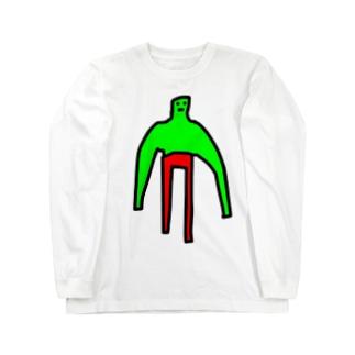 八頭身 Long sleeve T-shirts