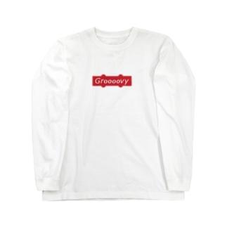 Groooovy - JB Pickup box logo Long Sleeve T-Shirt