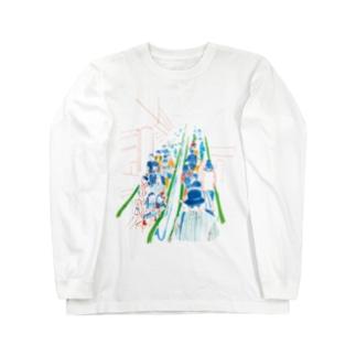 エスカレーター Long sleeve T-shirts