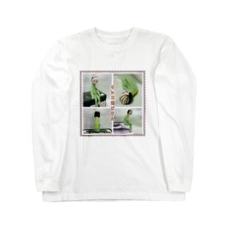 元祖インコおじさん Long sleeve T-shirts