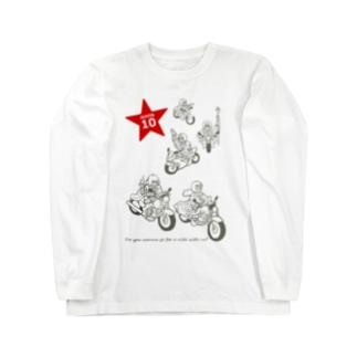 LaLaLa RIDE Long sleeve T-shirts