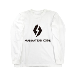MHT_LOGO - Black Long sleeve T-shirts