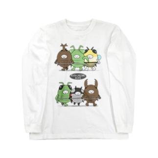 きぐるみキッズ(昆虫) Long sleeve T-shirts