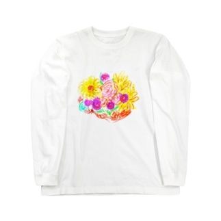 Bouquet Of Full-Hearted  Long sleeve T-shirts