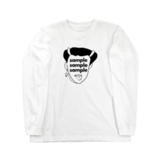 sampleのsampleマニア Long sleeve T-shirts