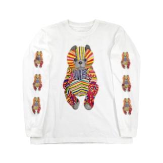 モン族のクマ3 Long sleeve T-shirts