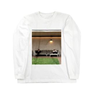 ソーシャルディスタンス Long sleeve T-shirts