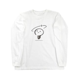 あかるいみらいけんきゅうじょのロゴ Long Sleeve T-Shirt