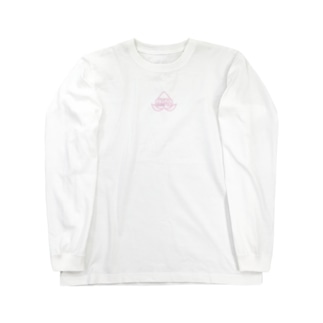 桃鴨ロゴT Long sleeve T-shirts