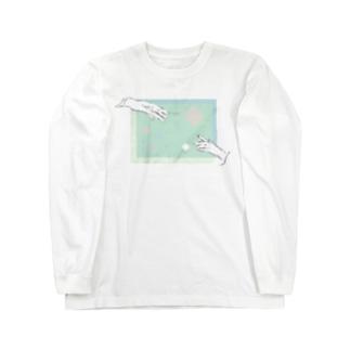 ツナガル Long sleeve T-shirts