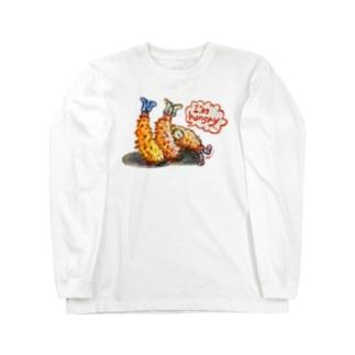 守時はるひのI'm hungry... Long sleeve T-shirts