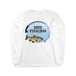 ブラウントラウト_1_C Long sleeve T-shirts