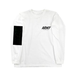 pinkchan053のARMY DNA Long sleeve T-shirts