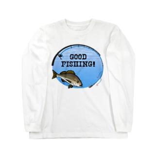 イサキ_1_C Long sleeve T-shirts