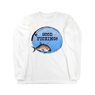 カンパチ_1_C Long sleeve T-shirts