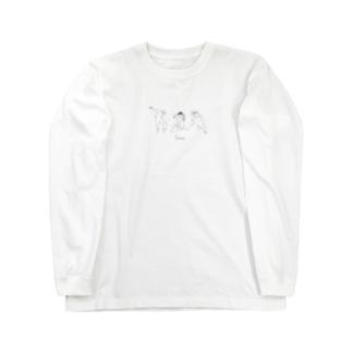 ダンサーチーム! Long sleeve T-shirts