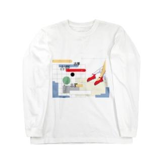 プールサイドロングスリーブTシャツ Long sleeve T-shirts