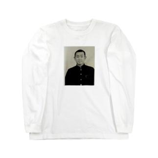 おれのじーちゃん Long sleeve T-shirts