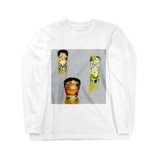 ロックで Long sleeve T-shirts