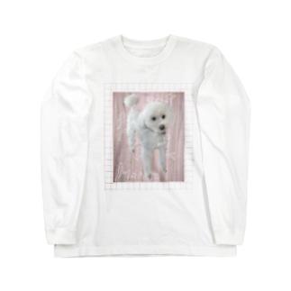 ともだちの犬 Long sleeve T-shirts