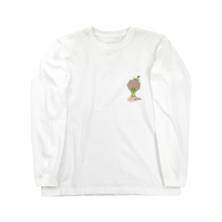 tulips by Morikawa Long sleeve T-shirts