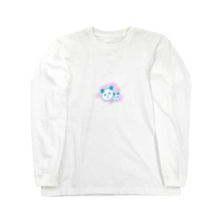 中小パンダ Long sleeve T-shirts