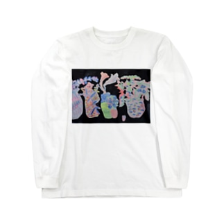 真夜中の植物1 Long sleeve T-shirts