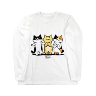 癒してあげ隊 Long sleeve T-shirts