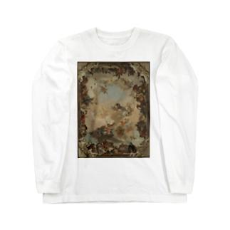 【世界の名画】ティエポロ『惑星と大陸の寓意画 』 Long sleeve T-shirts