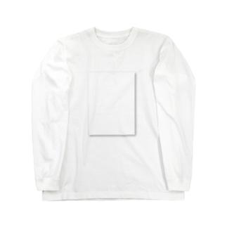 白 on 白 Long sleeve T-shirts