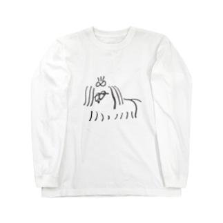 犬 _INU_ Long sleeve T-shirts