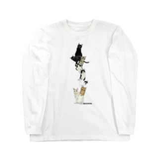 9にゃん Long sleeve T-shirts