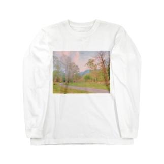 夕焼け Long sleeve T-shirts